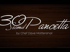 How to Make Pancetta in 60 Seconds - Bacon is Magic - The Best Food Around the World + How to Make it at Home