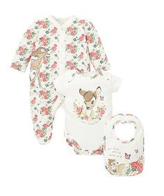Disney Bambi Three Piece Set - gift sets - Mothercare