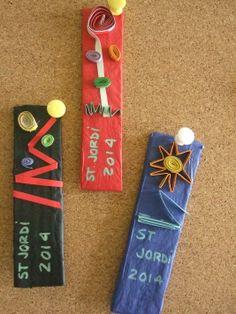 Punts de llibre fets per alumnes de 3r d'ESO