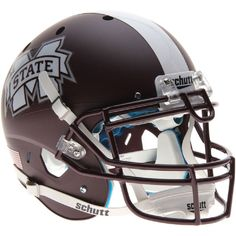 Mississippi State Bulldogs Authentic Full Size Schutt XP Helmet - Matte