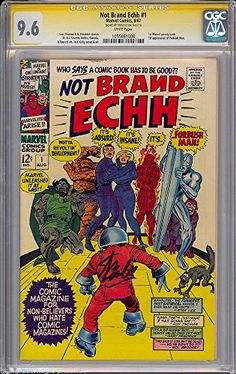 NOT BRAND ECHH # 1 CGC 9.6 SS STAN LEE W HALLOWEEN HIGHEST GRADED # 1055461008 @ niftywarehouse.com #NiftyWarehouse #Halloween #Scary #Fun #Ideas