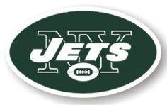 "New York Jets 12"" Logo Car Magnet"