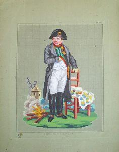 Napoleon. cross stitch pattern. Instant download. от rolanddesigns