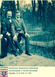 Ernie H and nephew Sigmund