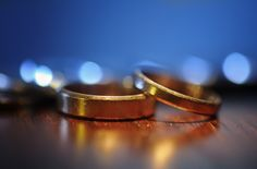 Here's an 8-minute video by the YouTube channel Magic Lens that shows how you can create magical wedding ring photographs using ordinary things found aroun