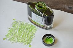 Pilot Iroshizuku Fountain Pen Ink, Chiku-Rin (Bamboo Forest), 50 ml