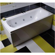 Cada dreptunghiulara de baie, cu sistem de hidromasaj, de la producatorul Belform, model Nordica, disponibila cu dimensiuni de 160x70cm, fabricata din acril 100%, culoare alb. Bathtub, Bathroom, Model, Hydro Dipping, Italia, Geometry, Standing Bath, Washroom, Bathtubs