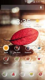 Autumn Theme ABC Launcher - 屏幕截图缩略图
