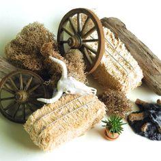 Miniature Southwest Country Kit for Miniature Garden by Janit #miniaturegarden