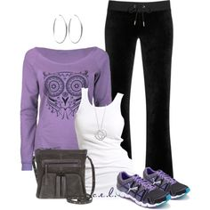 A fashion look from August 2013 featuring Soaked in Luxury tops, Juicy Couture pants and Puma athletic shoes. Browse and shop related looks.