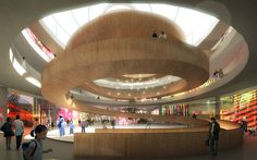 SHENZEN-ICERINK by Christopher Malheiros, via Flickr Architectural Technician, Architecture Magazines, Architecture Details, Urban Intervention, Shopping Center, Shopping Malls, Atrium, Magazine Design, Pavilion