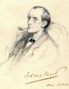Sherlock Holmes image credit Wikimedia Commons, Sidney Paget.