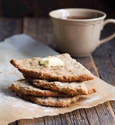 Rapea gluteeniton teeleipä Bread Recipes, Baking Recipes, Gluten Free Bakery, Apple Pie, French Toast, Paleo, Rolls, Food And Drink, Cookies