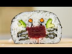 How to Make a Crab Sushi Roll - YouTube