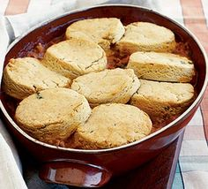 Thane Prince's gluten-free beef cobbler | BBC Good Food