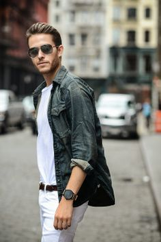 Men's casual street style | Adam Gallagher | I AM GALLA