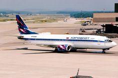 Aeroflot | Boeing 737-400 | VP-BAM | Zurich Kloten