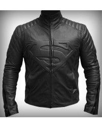 Most Wanted #superman black #jacket alos in #faux #leather. Now #freeshipping to #USA #UK #CANADA on all orders