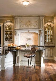 gorgeous kitchen by Habersham