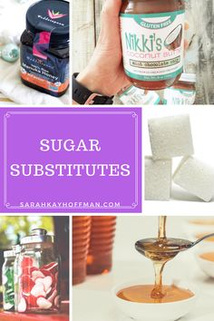 Sugar Substitutes sarahkayhoffman.com