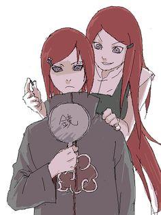 That is just adorable. <3 Uzumaki Nagato and Uzumaki Kushina