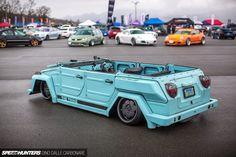 Slammed VW Thing