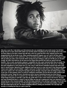 Words of Wisdom by Bob Marley. - Celebrities - Check out: Bob Marley Quotes on Barnorama Best Bob Marley Quotes, World Quotes, Life Quotes, Daily Quotes, Qoutes, Robert Nesta, Nesta Marley, Quotes About Everything