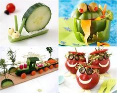 idées repas de légumes équilibré et amusant pour anniversaire d'enfant