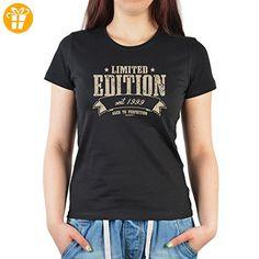 Frauen T-Shirt zum 18. Geburtstag Limited Edition 1999 für 18jährige Geschenk zum 18. Geburtstag 18 Jahre Geburtstagsgeschenk Mädchenshirt (*Partner-Link)