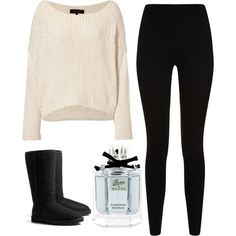cute basic white girl outfit