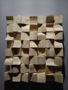 wood wall art - dyfuzer made by Łukasz Masiukiewicz