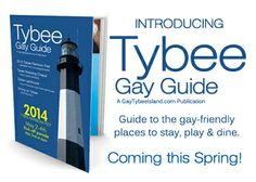 Tybee Island Gay Guide magazine