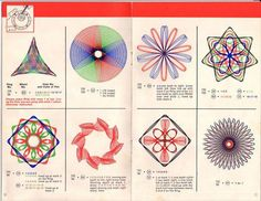 spirograph = nostalgia..hours of my life with the little push pins