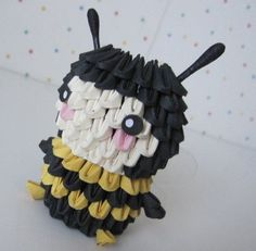 3D Origami - Small Bee