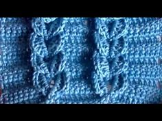 Trança em crochet croche-tutorial portugués - YouTube