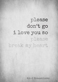 Alt-J - Breezeblocks This song is amazing. The music and lyrics go hand and hand Alt J Lyrics, Music Lyrics, Music Quotes, Sing To Me, Me Me Me Song, Music Love, Good Music, Lyrics Aesthetic, Music Express