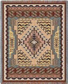 Butte Clay Tapestry Throw