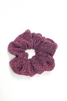 Beautiful Fashionable Golden Sparkling Scrunchies 2 Pack New