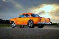 Orange Crate 55 Chevy JR Hot Rod Gasser