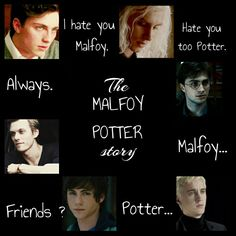 Harry Potter Aesthetics THE MALFOY POTTER STORY James Potter Lucius Malfoy Harry Potter Draco Malfoy Albus Severus Potter Scorpius Malfoy by Camy Malfoy