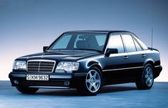 A highly sought-after young classic: the Mercedes-Benz 500 E.