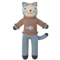 SARDINA - Preciosos muñecos de 30 cm, realizados a mano, tejidos en punto con fibras naturales de excepcional calidad. Los traemos desde Atlanta para ti. Para todas las edades.