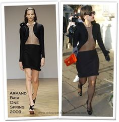 Lily Allen in Armand Basi