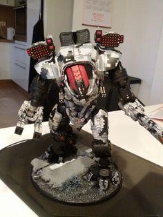 Tau digi camo stormsurge conversion warhammer by skincoffin on DeviantArt Tau Warhammer, Warhammer 40k Figures, Warhammer Models, Warhammer 40k Miniatures, Tau Battlesuit, Tau Army, Tau Empire, Imperial Knight, Galaxies