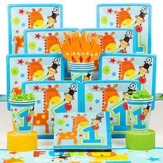 Fun to Be One Boy Party Ideas, Decorations and Supplies