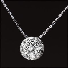 Rakuten: To a diamond necklace [free shipping, differentiation memo] gift on a birthday. Seventh tone diamond necklace pendant -diamond-- Shopping Japanese products from Japan