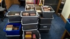 After being sorted by language and size, the books were moved to the Library at Trinity College, Cambridge. Work started on sorting the books by date of publication. Centuries spanned from the to the Trinity Library, Sorting, Cambridge, Language, College, Books, University, Libros, Book