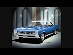 Pontiac-Buick-Cadillac, The Automotive Art of Danny Whitfield