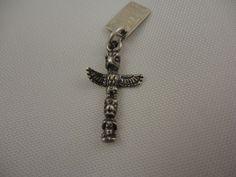 Vintage Signed Bell Sterling Silver Bracelet Charm Totem Pole Ketchikan Alaska   eBay