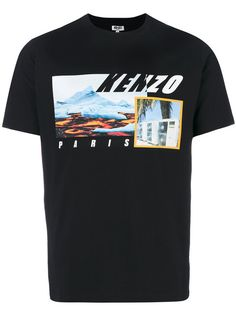 Kenzo Tropical Ice T-shirt - Farfetch Hang Ten, T Shirt Vest, Tee Shirts, Ice T, Cool Tees, Kenzo, Mens Fashion, Mens Tops, Teen Beach